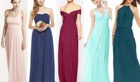 10 Budget-Friendly Long Bridesmaid Dresses Under $100