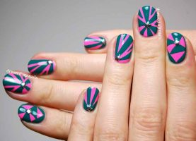5 Beautiful Geometric Nails That Will Catch Your Eye