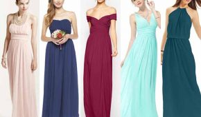 10 Budget-Friendly Long Bridesmaid Dresses Under $100